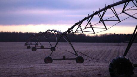 aspersion parcelle agricole